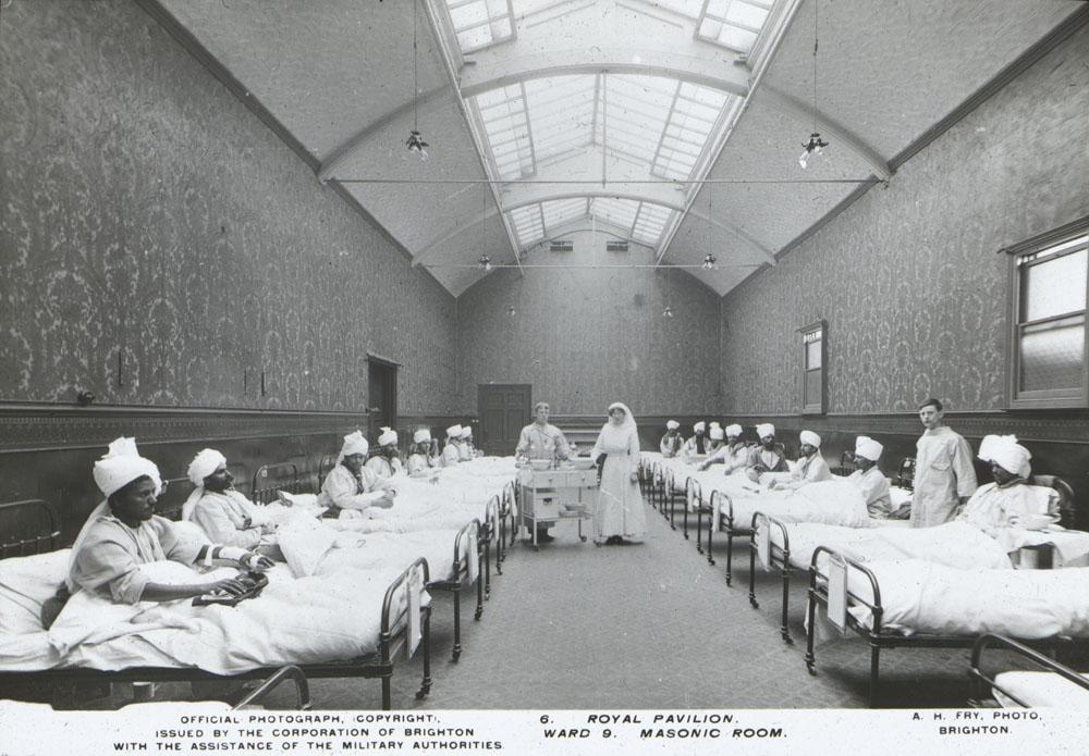 6. Royal Pavilion. Ward 9. Masonic Room