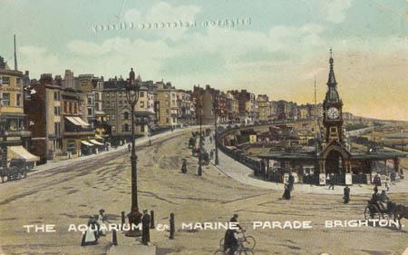 THE AQUARIUM & MARINE PARADE BRIGHTON