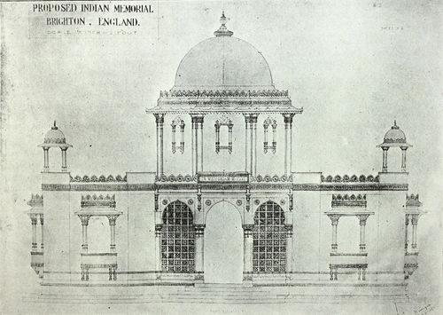 Proposed Indian Memorial, Brighton