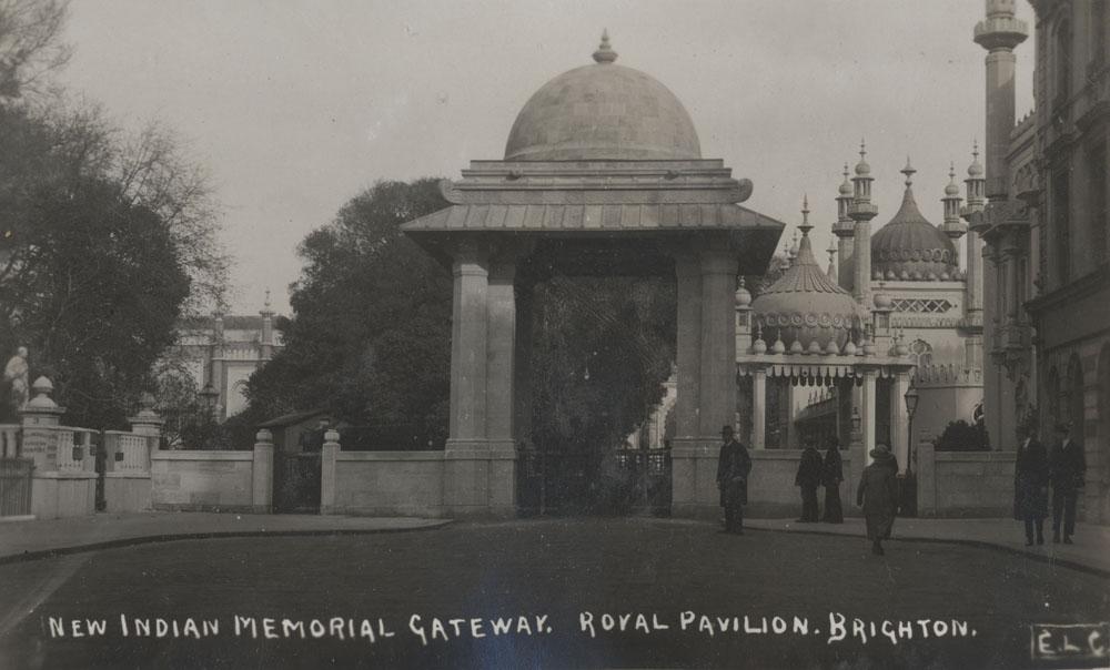 New Indian Memorial Gateway. Royal Pavilion Brighton.