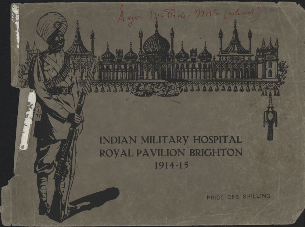 Indian Military Hospital Royal Pavilion Brighton 1914 - 1915