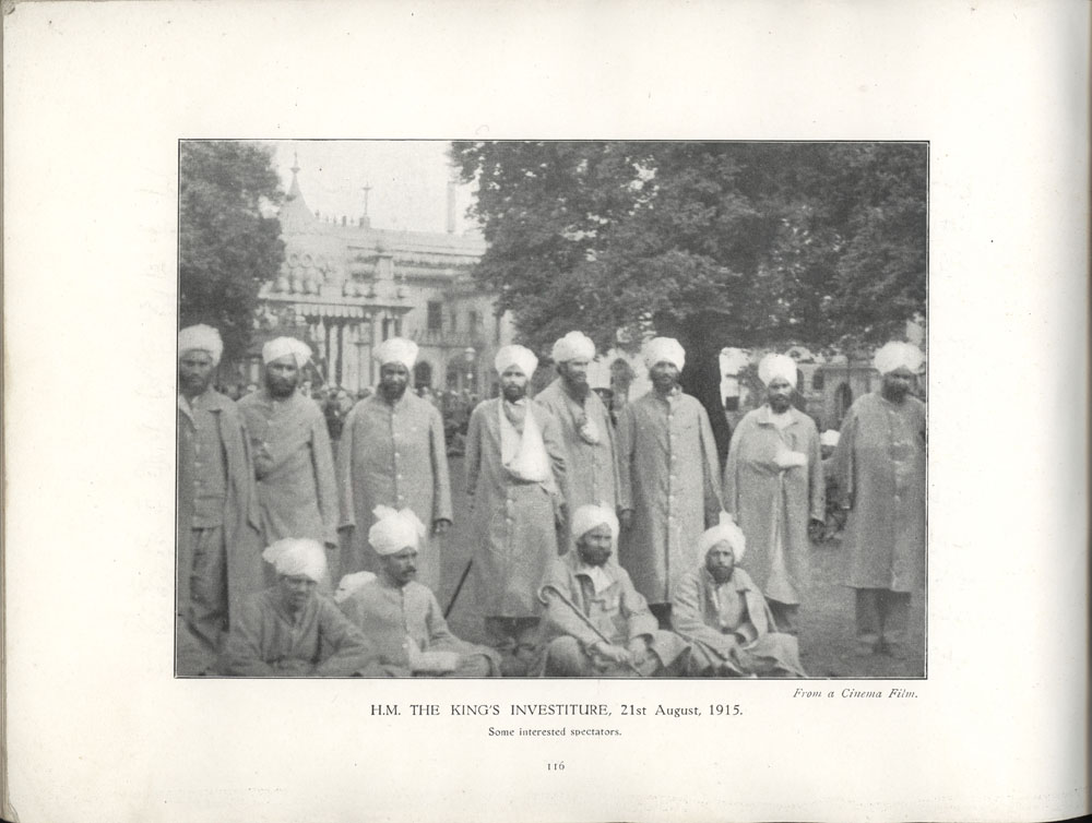 H M The King's Investiture, 21st August, 1915