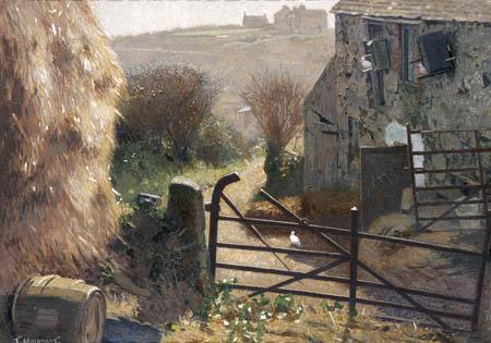 Farm Scene, St Ives