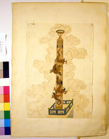 A Column Encircled by Dragons: Design for a Carpet
