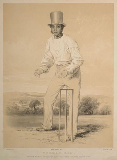 The Cricketer Thomas Box