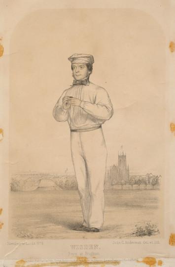 John Wisden, Born at Brighton