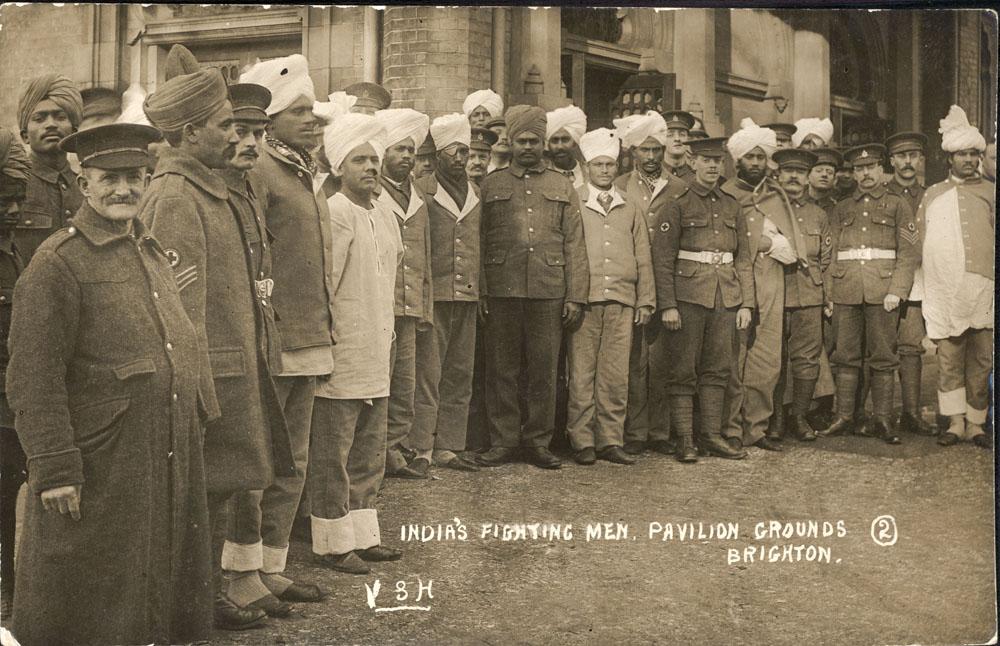 2. India's Fighting Men. Pavilion Grounds, Brighton.