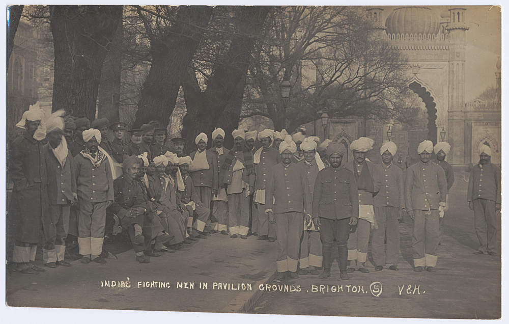 India's Fighting Men in Pavilion Grounds, Brighton