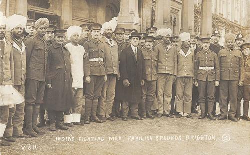 India's Fighting Men, Pavilion Grounds, Brighton.