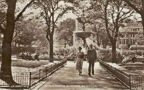 In Old Steine Gardens, Brighton