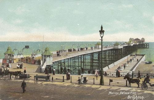 Marine Palace Pier, Brighton