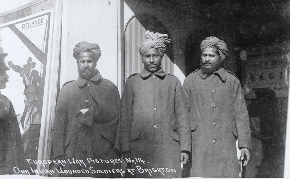 European War Pictures No 114 - Our Indian Wounded Soldiers at Brighton