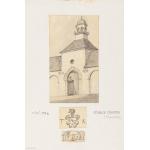 Thumbnail image for Stanley Leighton sketch, Stables, Leighton