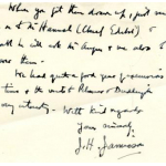 Thumbnail image for LETTER FROM J JAMIESON TO MR BRUCE