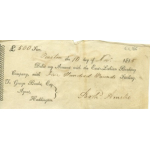 Thumbnail image for EAST LOTHIAN BANKING COMPANY DEBIT SLIP