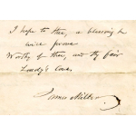 Thumbnail image for TWO MANUSCRIPT POEMS WRITTEN BY JAMES MILLER, FARMER AT GREENDYKES