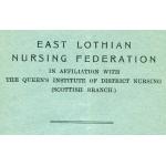 Thumbnail image for EAST LOTHIAN NURSING FEDERATION