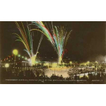 Thumbnail image for FIREWORKS DISPLAY AT AN EVENING GALA AT THE OUTDOOR SWIMMING POOL, NORTH BERWICK