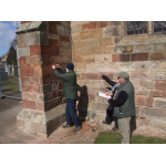 Thumbnail image for Bullet Impact Survey At St. Mary's Church Haddington