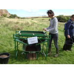 Thumbnail image for North Berwick Law Midden Sieving
