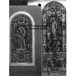 Thumbnail image for Designs for two windows, one is for Oldbury Church