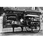 Thumbnail image for C E Watts, Grocer and Howell's Drapers Store, Oldbury Road, Smethwick