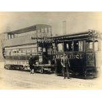 Thumbnail image for Birmingham & Midland Tramways Ltd., Steam Tram and Passenger Car