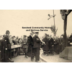 Thumbnail image for Opening Ceremony of the Wolverhampton Road (A4123) by H.R.H Edward Prince of Wales: arrival