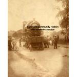 Thumbnail image for Wolverhampton New Road, Oldbury under construction: steam locomotive