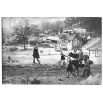 Thumbnail image for Children having horse rides at Adams Hill, Clent