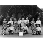 Thumbnail image for Junior folk dance team of All Saints' Primary School, All Saints' Road