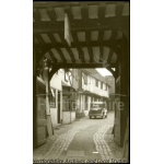 Thumbnail image for Photograph: view along an alley [Red Hart]