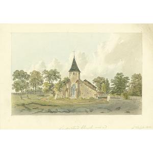 Sanderstead church west end