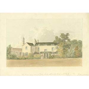 The Mansion occupied by Lady Stuart, Richmond Park