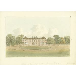 Seat of General Campbell in Richmond Park