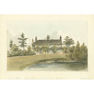 Ledgers, Chelsham Manor House, seat of Mr Lackhart