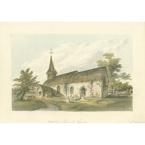 Katerham Church Surrey [sic]