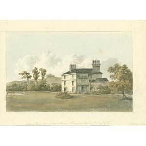 Tanridge Manor Court House, seat of Josiah Wilks, Jun
