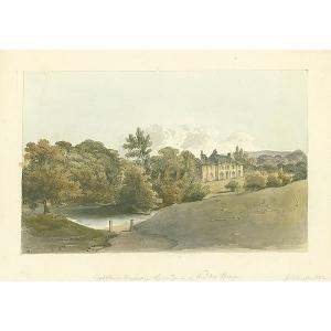 Godstone Vicarage, residence of Rev Mr Hoare
