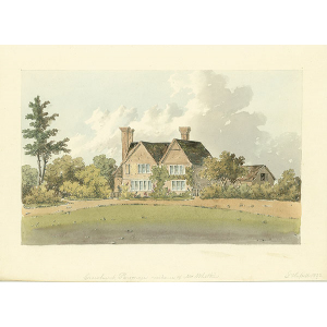 Crowhurst Parsonage, residence of Mr Whitkin