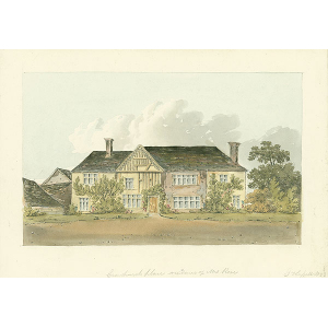 Crowhurst Place, residence of Mrs Rose