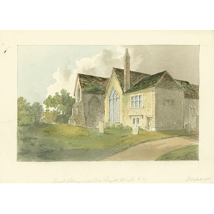 Royal Library, west end of Reigate church