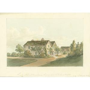 Shelwood Manor House, Leigh, property of Duke of Norfolk