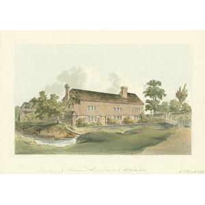 Hookwood, residence of Mr Sanders, Charlwood