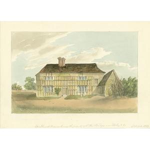 Woodhurst Manor House, seat of Sir Henry Bridges
