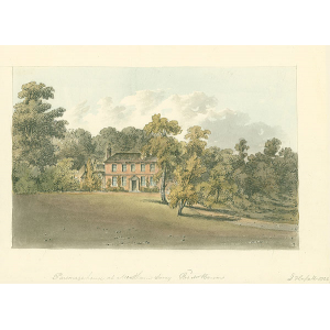 Parsonage House at Merstham, Rev Mr Benson