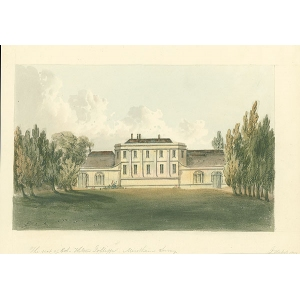 The seat of Colonel Hilton Joliffe, Merstham