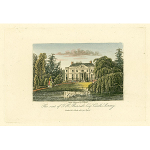 The seat of J H Barrett Esqr, Ewell, Surrey