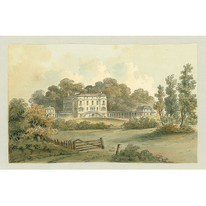 Baltimore or Woodcote Park House, seat of Miss Tessier