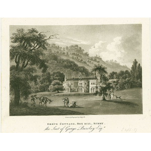 Grove Cottage, Box Hill, Surry, seat of George Barclay
